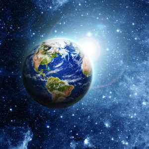 Planet Earth Created by God